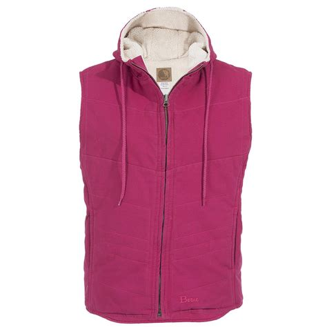 Hooded Vest s berne 174 washed hooded vest 621571 vests at