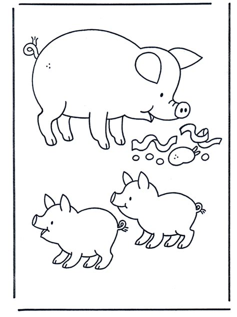 coloring book pages of a pig free printable pig coloring pages for kids