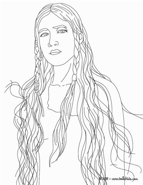 sacagawea coloring sheet coloring pages