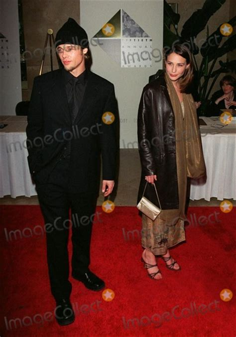 claire forlani movies and tv shows photos and pictures 21feb98 actor brad pitt with