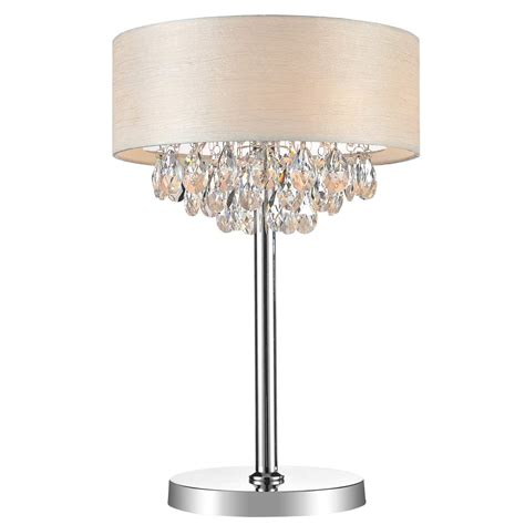 Tabletop Chandeliers Brizzo Lighting Stores 14 Quot Struttura Modern Table L Shade Offwhite