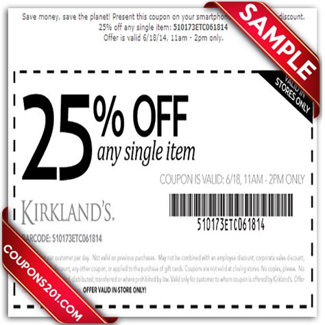 Kirklands Printable Coupons   2017   2018 Best Cars Reviews