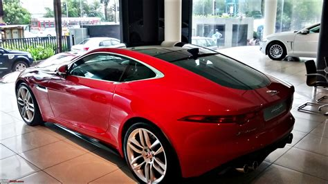 Car Types In India by Jaguar F Type In Mumbai Team Bhp