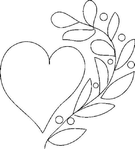 Heart Colouring Sheets Heart Colouring Colouring Pictures For