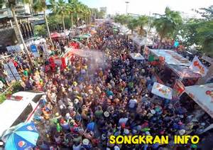 thai new year water festival songkran info 2016 events dates locations island
