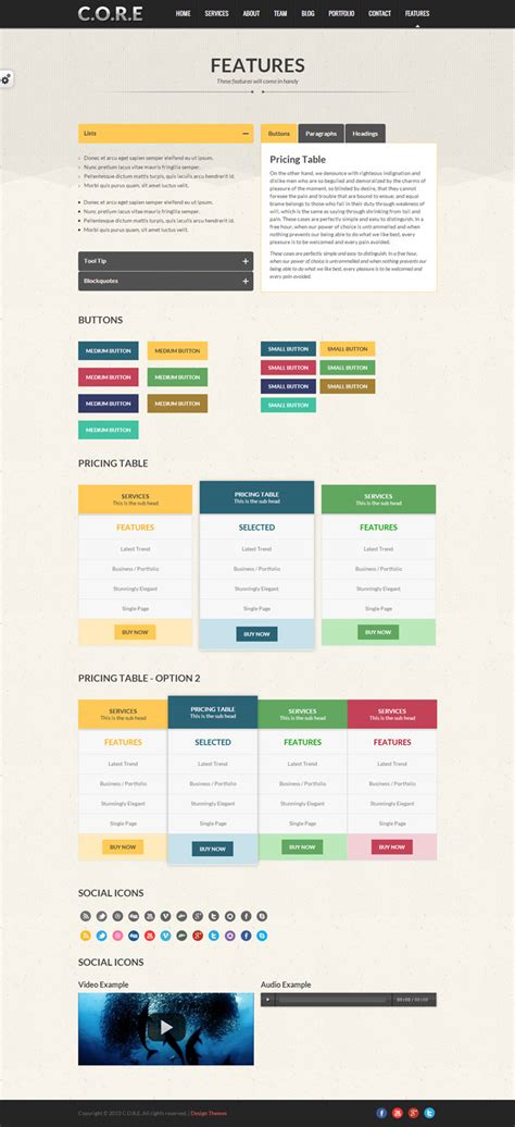 one page responsive html5 template single page html5 responsive template