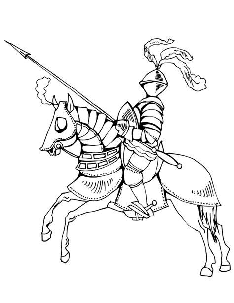 coloring pages of knights and horses knights on horses coloring pages