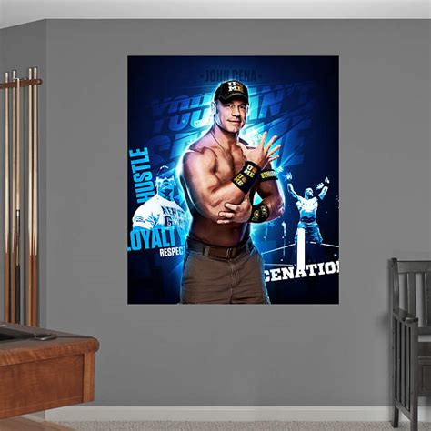 cena wall stickers cena montage mural fathead wall decal