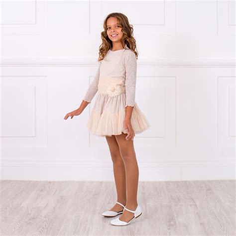 Greta Set greta pale blush pink polka dot dress bolero set missbaby