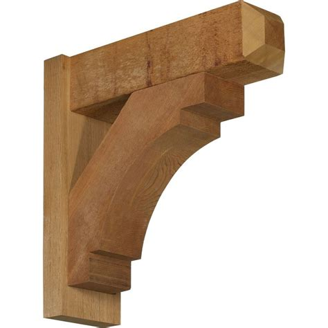 Craftsman Corbels Exterior Merced Craftsman Style Smooth Solid Wood Outlooker Sweet