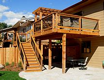 Cost To Build Pergola by Composite Deck Cost Of Composite Deck Per Square Foot