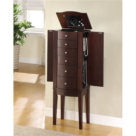 powell furniture jewelry armoire powell furniture merlot jewelry armoire 398 315