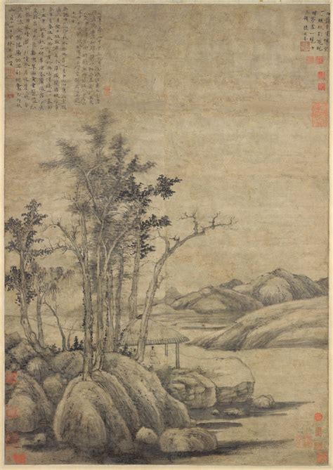 Landscape Poetry Definition Ni Zan Enjoying The Wilderness In An Autumn Grove