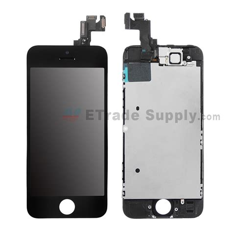 Spare Part Lcd Iphone 5s apple iphone 5s lcd screen and digitizer assembly with frame etrade supply