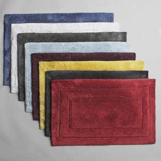 Contour Bath Rug Cotton by Country Living Cotton Contour Bath Rug