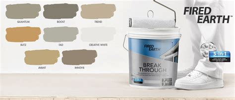 fired earth wallpaper builders warehouse the new way to paint builders