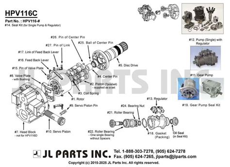 L Parts by Jl Parts Inc Hpv116c