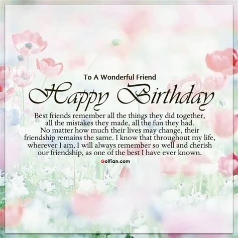 Birthday Quotes For Best Friends 60 Wonderful Best Friend Birthday Quotes Nice Birthday
