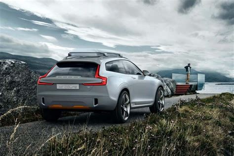 volvo xc coupe photos of volvo concept xc coupe leak out