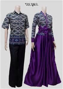 Baju batik muslim couple terbaru elegan 1000 contoh model baju