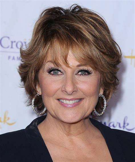 short hairstyles 2014 over 60 with high and low lights short haircuts for women over 50 years old