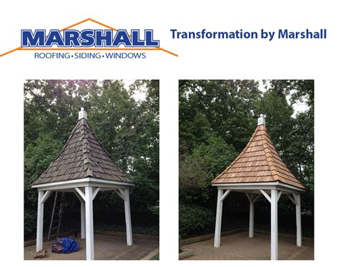 gazebo roof replacement northern virginia roofing contractor gazebo roofing