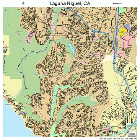 laguna niguel california map 0639248
