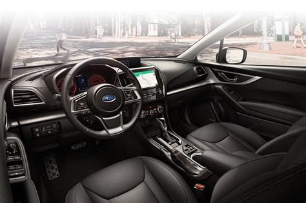 Interior 2017 Impreza Subaru Canada