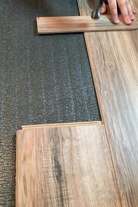 Easy Way To Cut Laminate Flooring by How To Install New Bedroom Flooring In 24 Hours For 200