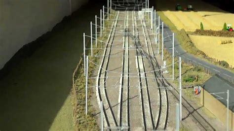n scale yard lights modern image n model railway layout 20ft fiddle
