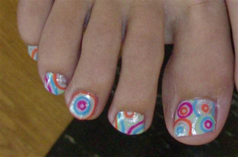 easy lace toe nail art design youtube
