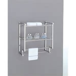 bathroom chrome shelving wall mounted towel rack holder hotel bathroom storage