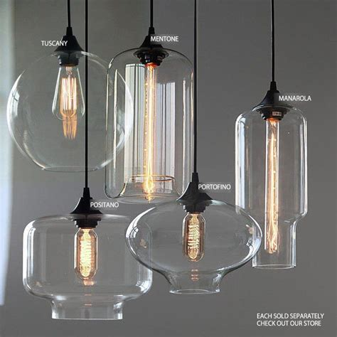 hanging light pendants for kitchen 25 best ideas about glass pendant light on