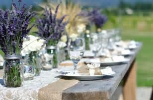 lavender centerpieces for weddings outdoor wedding reception centerpieces jars purple