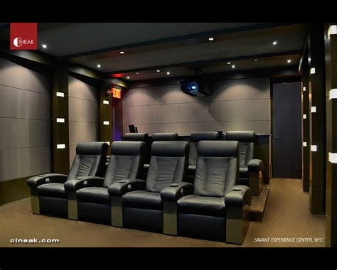 media room seating savant experience center with cineak seats modern home theater san francisco by cineak