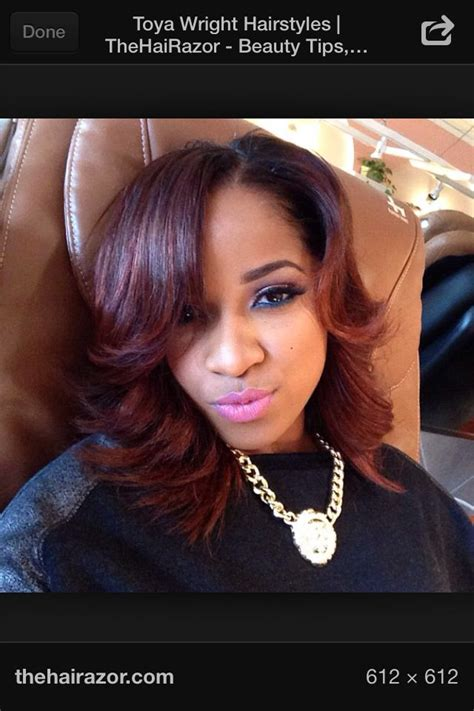 toya wright bob hairstyle 1000 images about toya wright on pinterest color