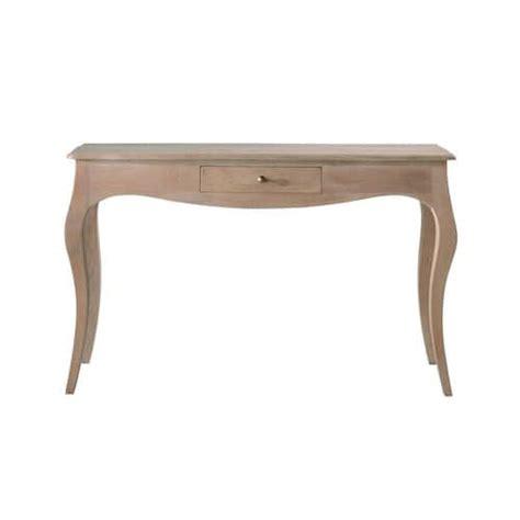 mango wood entry table mango wood console table w 130cm colette maisons du monde