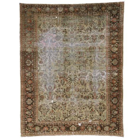 industrial style rugs distressed antique lilihan rug with modern industrial style for sale at 1stdibs