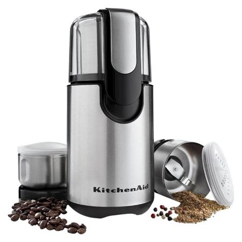 Kitchenaid Grinder Directions Kitchenaid 174 Coffee And Spice Grinder Black Bcg211 Target