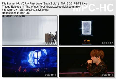 download mp3 bts first love download perf suga first love 2017 bts live trilogy