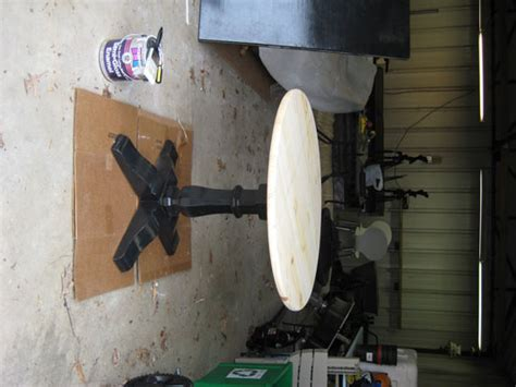 How To Make A Pedestal Build A Pedestal Table In An Afternoon On The Cheap