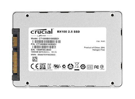 Sale Memory Crucial Bx100 1tb ct1000bx100ssd1 crucial 1tb sata 6 0 gbps ssd