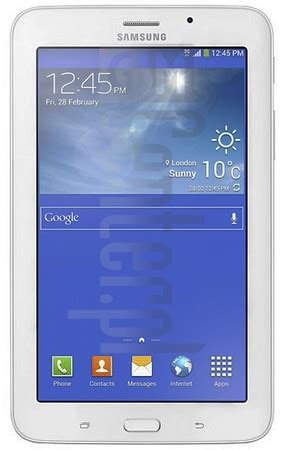 Galaxy Tab 3v T116nu samsung tablets imei to model