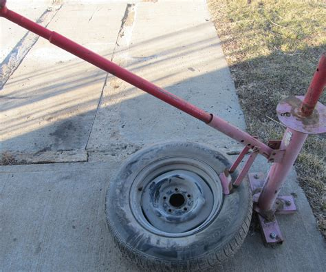 how to use a tire changer
