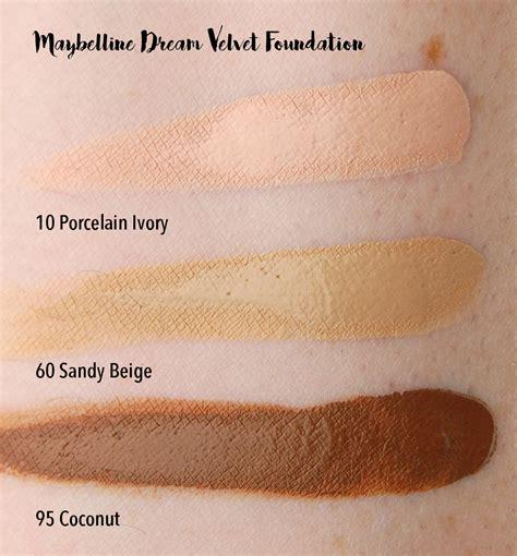 Maybelline Velvet maybelline 2016 velvet foundation master