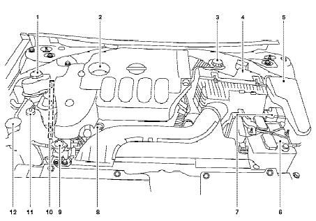 Busi Iridium Duration Suzuki Grand Escudo 2003 2009 nissan altima qr25de engine compartment diagram