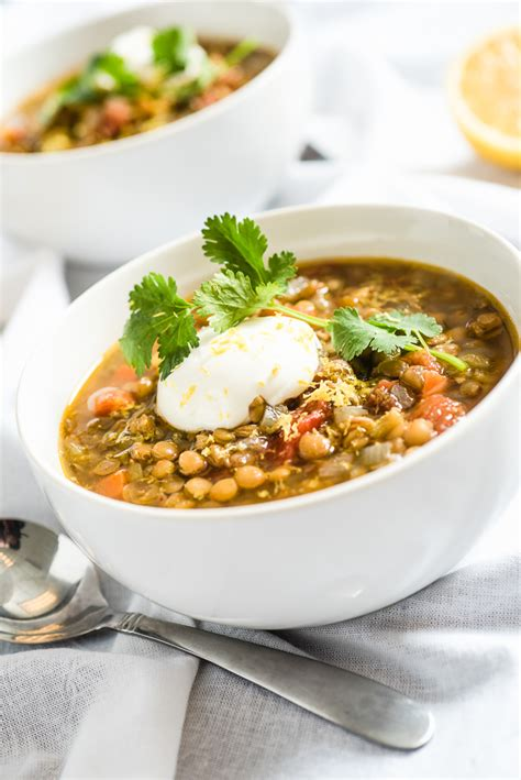 slow cooker vegetarian lentil soup everyday good thinking