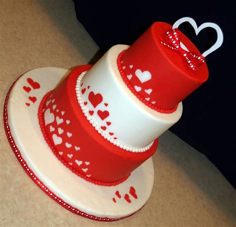 cakes for valentines day valentines day fondant cake cake pictures