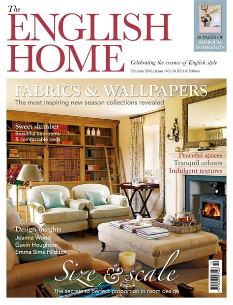 English Home Design Magazines | interior design magazines to read decorex 2016 special
