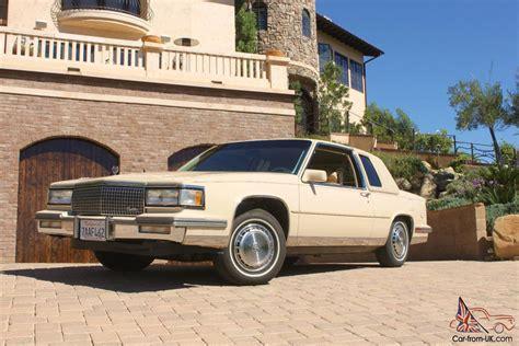 new 2 door cadillac 1987 cadillac coupe 67k like new 2 door